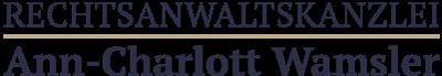 Rechtsanwältin Ann-Charlott Wamsler